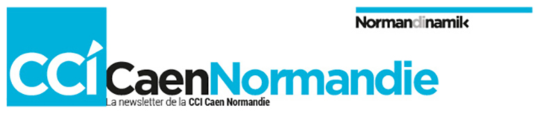 Bannière Newsletter CCI Caen Normandie